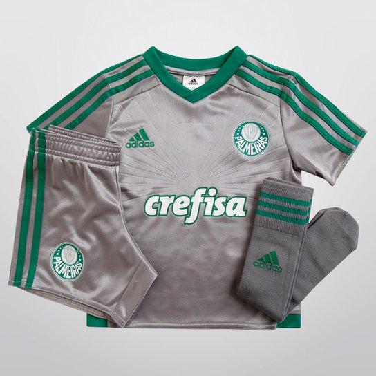 Kit Adidas Palmeiras III 15 16 s nº Infantil - Compre Agora  ab98cef2d6e1d