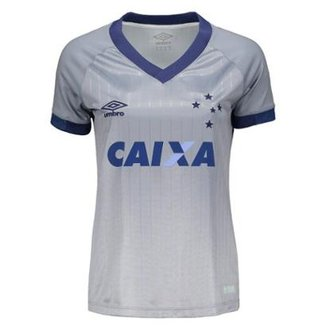 Camisa Umbro Cruzeiro III 2018 Feminina ffe7f974b07e4