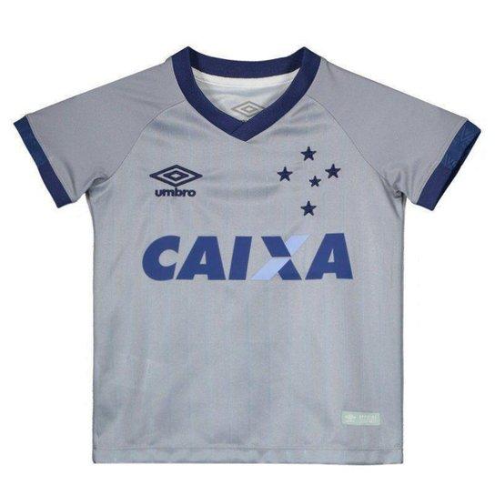 d7bc402a9c Camisa Umbro Cruzeiro III 2018 Infantil - Compre Agora