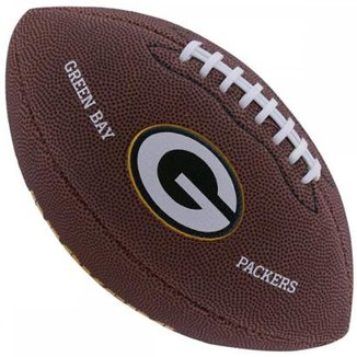 Bola de Futebol Americano Wilson NFL Team GREEN BAY PACKERS cc50c8ffcdc68