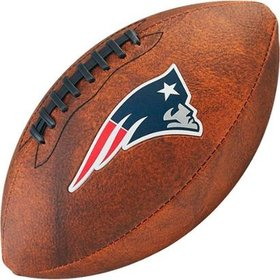 Bola de Futebol Americano Wilson Throwback NFL Jr. New England Patriot. 067de4a376a