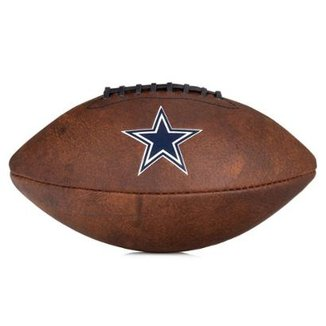 6ce988f4fb Bola de Futebol Americano Wilson Throwback NFL Jr. Dallas Cowboys