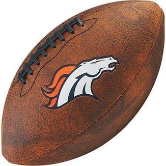 Bola de Futebol Americano Wilson Throwback NFL Jr. Denver Broncos d5f4ab483fabc