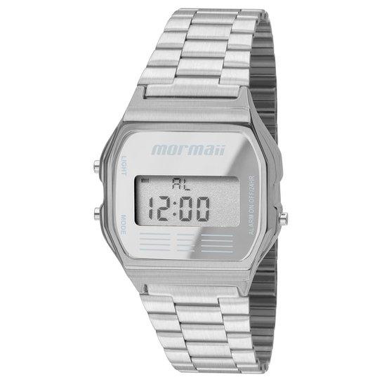 930b175988c90 Relógio Mormaii MOJH02AA - Prata - Compre Agora
