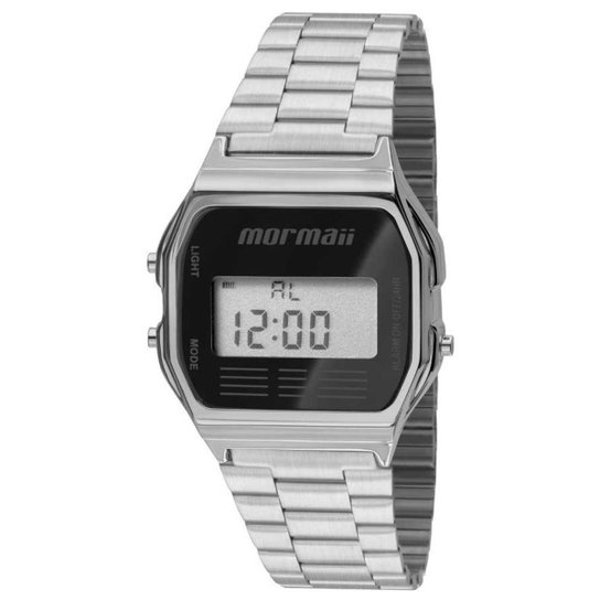 3005ffcb34ea8 Relógio Mormaii MOJH02AA 3P - Prata - Compre Agora