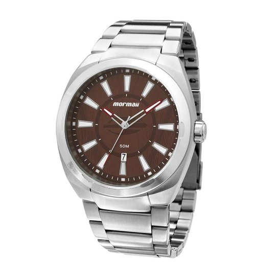 ec1827e8c8a Relógio Mormaii Masculino Analogico Mo2315ak 3M - Compre Agora ...