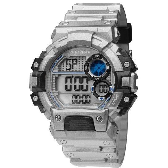 fdcd9fd2b76 Relógio Masculino Mormaii Digital Aqua Pro - Prata - Compre Agora ...