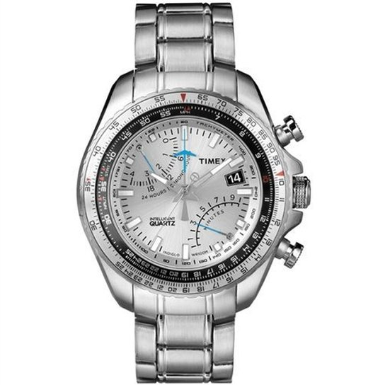 8f373c6c8511d Relógio Feminino Technos Analogico Elegance Ladies - Prata - Compre ...