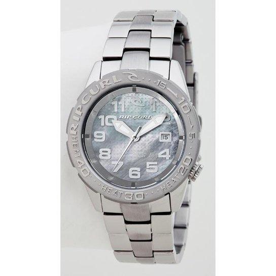 855f0703ef5 Relógio De Pulso Ripcurl Cortez 2 - Aço - Prata - Compre Agora ...