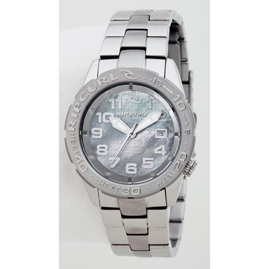 f9be1896f28 Relógio De Pulso Ripcurl Cortez 2 - Aço - Prata - Compre Agora ...