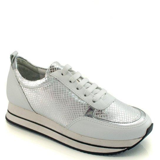 03fee7eeac Tenis Sneaker Metalizado Cravo e Canela - Compre Agora