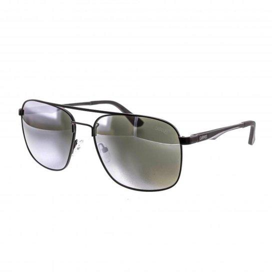 06cf84d4e Óculos de Sol Cannes Espelhado Retrô Proteção UV Masculino - Prata. Loading.