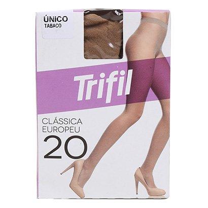 Meia Calça Trifil Fio 20 Europeu Feminina