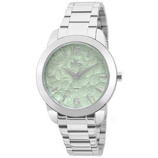 Kit Relógio Allora Feminino Folhagens 474e479820