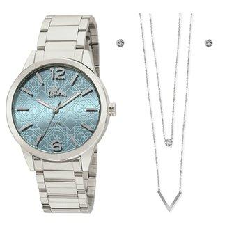 dc214001fbb Kit Relógio Allora feminino
