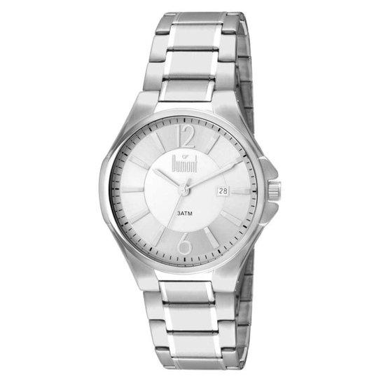 bd3e7ebe4db Relógio Dumont Caixa e Pulseira De Metal - Prata - Compre Agora ...