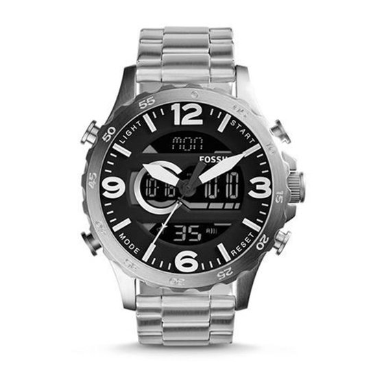 0a187ef716d26 Relógio Fossil Nate JR1514 1PN 50mm - Compre Agora   Netshoes