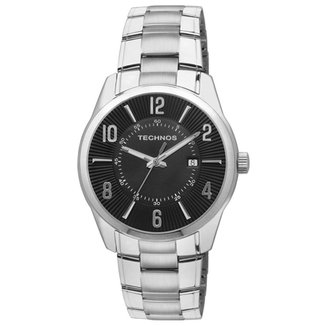 e3254326864 Relógio Technos Classic Steel