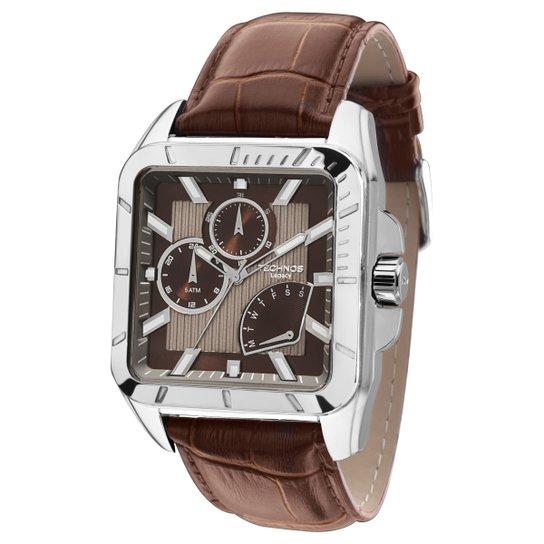 761afa01a2e Relógio Technos Pulseira Couro - Compre Agora