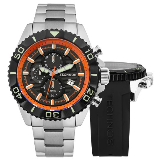 9b7463c27c2 Relógio Technos Pulseira de Aço - Compre Agora