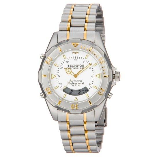 4c546087bde Relógio Technos Pulseira de Aço - Prata - Compre Agora