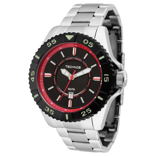 Relógio Technos Pulseira de Aço - Prata - Compre Agora   Netshoes e748342897