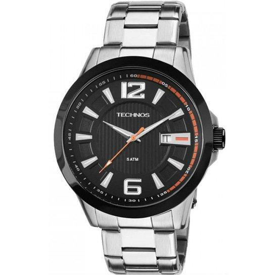 15d5c07507b62 Relógio Technos Performance Racer 2115Knv 1P - Prata - Compre Agora ...
