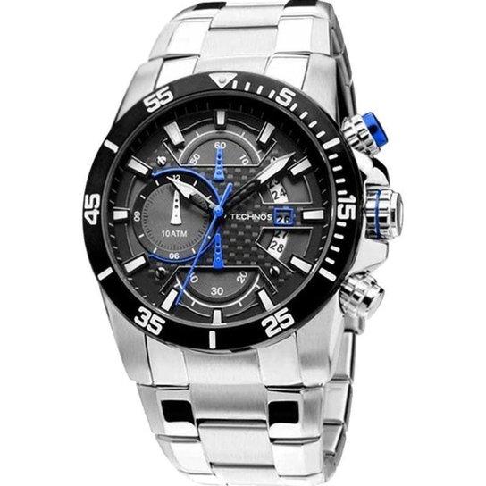 dd5bbd624dd71 Relógio Technos OS10ER 1A 50mm Sports - Prata - Compre Agora   Netshoes