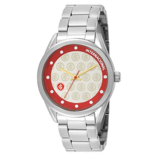 6b9441d4da6 Relógio Internacional Technos Metal Analógico I - Prata - Compre ...