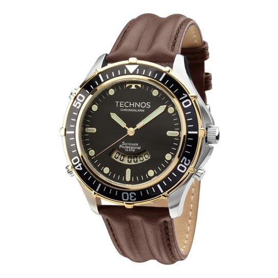 db6494cf8c9 Relógio Technos Masculino T205IX0P - Compre Agora