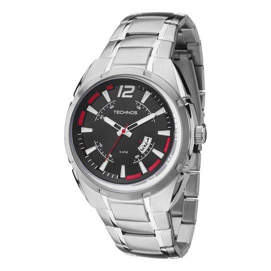 a2fc0d2e7dfc5 Relógio Technos Masculino 2115KTD1R - Compre Agora   Netshoes