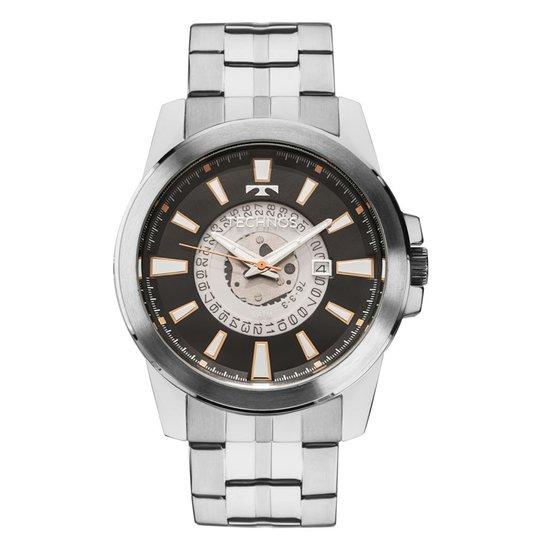 06a3b877f7c80 Relógio Technos Masculino 2117LAI 1P - Prata - Compre Agora   Netshoes