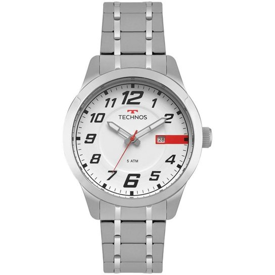 412c9b8c12 Relógio Technos Masculino Racer - 2115MOW 1B 2115MOW 1B - Prata ...