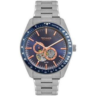 31379703d86 Relógio Technos Masculino Automatico - 82S7AA 1A 82S7AA 1A