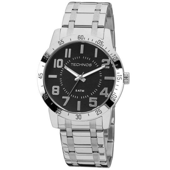 18fde7f5fe3 Relógio Technos Militar Masculino Analógico - 2036LOY 1P 2036LOY 1P - Prata