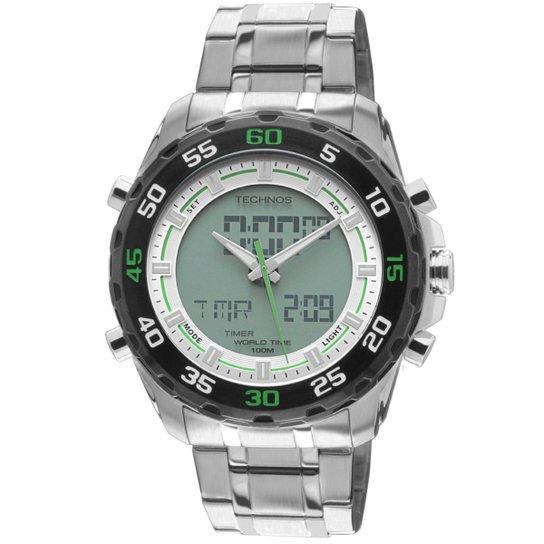 30b069da9fe Relógio Technos Masculino Prata - CA957B 1V CA957B 1V - Compre Agora ...