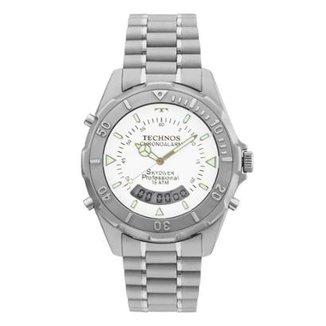 2175094c6b3b6 Relógio Technos Masculino Skydiver - T20562 1B T20562 1B