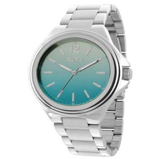 15b2c4e3c86 Relógio Euro Feminino Analogico Premium - Prata - Compre Agora ...