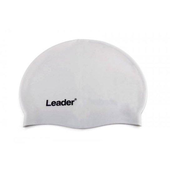 cd98b75d2 Touca para Natação Leader em Silicone - Prata - Compre Agora