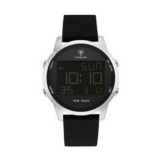 4e490264798 Relógio Masculino Tuguir Digital TG7003 - Prata - Compre Agora ...