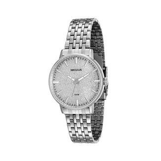 c2d512e1ec4 Relógio Feminino Analógico Seculus 90001L0svna3