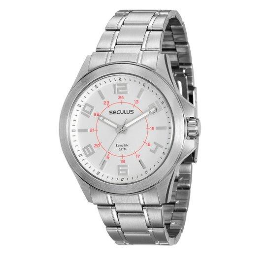 bdec21cc8 Relógio Seculus Analógico 20580G0SVNA2 Masculino - Compre Agora ...