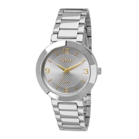 2dbea291ef9 Relógio Condor Feminino Eterna Bracelete - Prata - Compre Agora ...