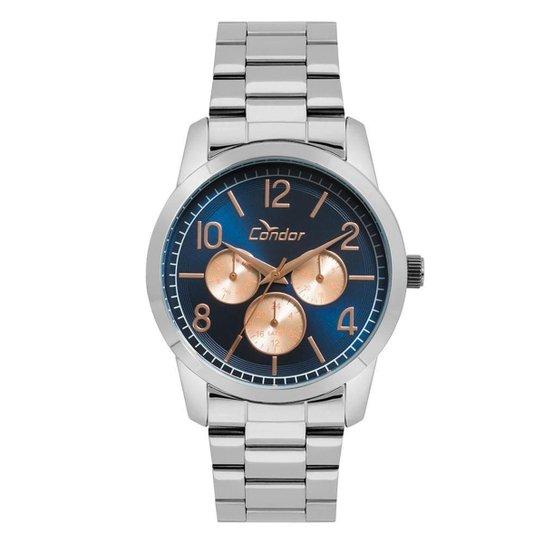 b1c2ba13caf Relógio Condor Feminino Bracelete - CO6P29IJ 3A CO6P29IJ 3A - Prata ...