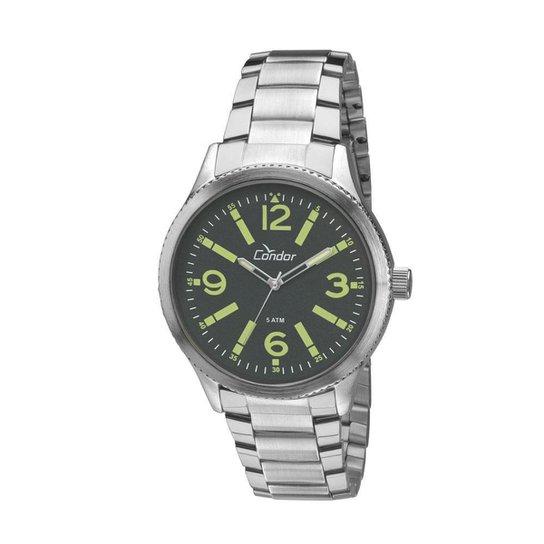 57fc575c0b9 Relógio Condor Masculino Metal - CO2035KNG 3V CO2035KNG 3V - Compre ...