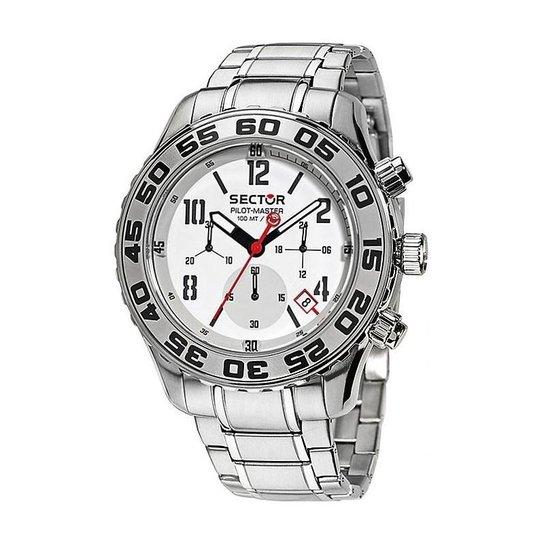 60b9e660bba24 Relógio Sector Masculino Pilot-Master - WS30929Q - Prata - Compre ...