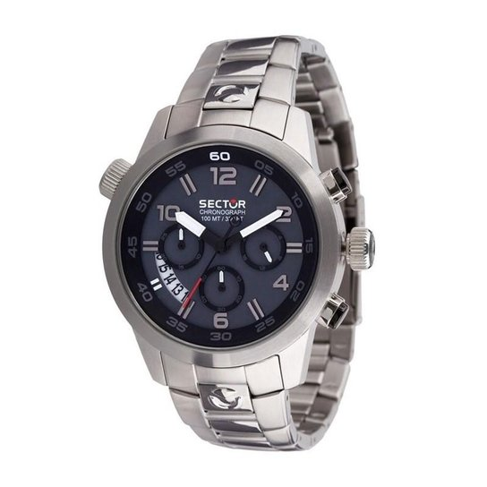 f8063898aaf00 Relógio Sector Masculino Chronograph - WS31848C - Prata - Compre ...