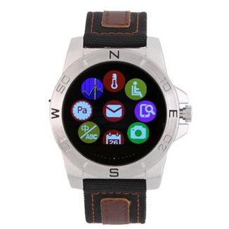 7e84a411f56 Relógio Smartwatch Masculino Lux N10b