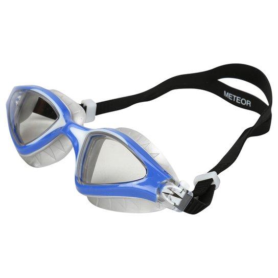 cd690d5a9 Óculos de Natação Speedo Meteor - Azul e Cinza