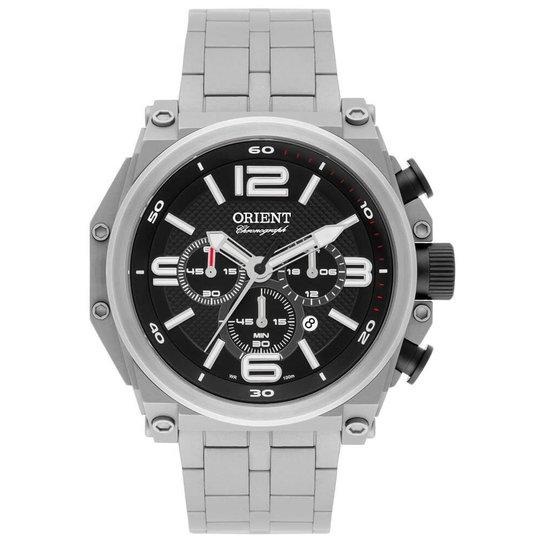 0e99ae96d4c Relógio Orient Army Tech Masculino Mbttc013 P2Gx Troca Pulseira Titânio -  Prata